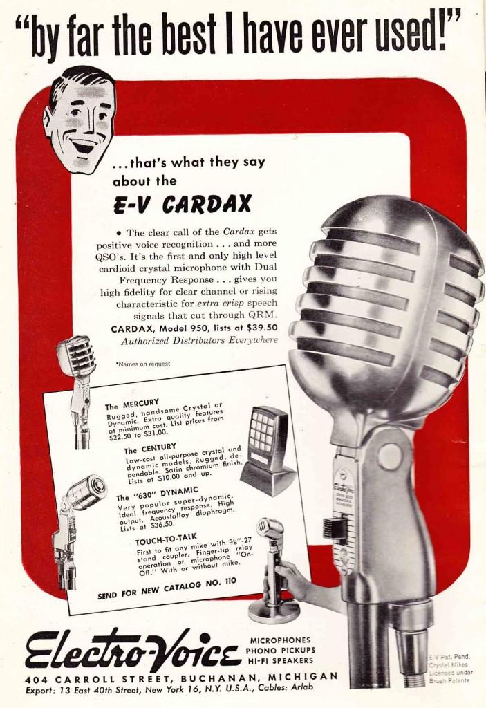 ElectroVoice E-V Cardax